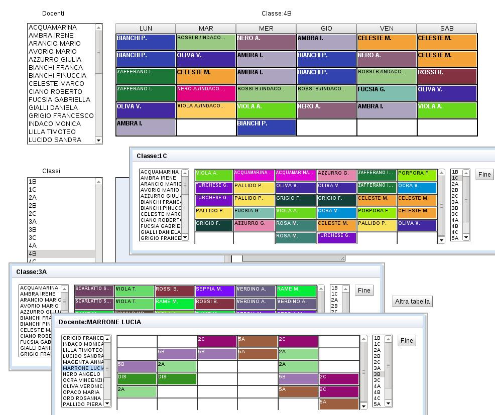 Orario web orario scolastico online for Software di progettazione di mobili gratuiti online